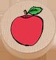 Apfel natur