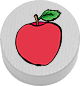Apfel weiß
