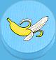 Banane hellblau