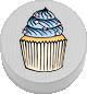 Cupcake weiß