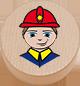 Feuerwehrmann natur