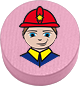 Feuerwehrmann rosa