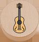 Gitarre natur