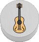 Gitarre weiß
