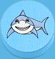 Hai hellblau