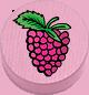 Himbeere rosa