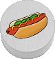 Hotdog weiß