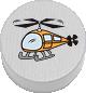 Hubschrauber weiß