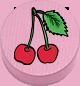 Kirsche rosa