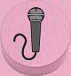 Mikrofon rosa