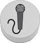 Mikrofon weiß
