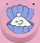 Muschel rosa