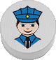 Polizist weiß