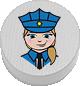 Polizistin weiß