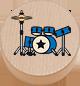 Schlagzeug natur