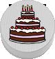 Torte weiß