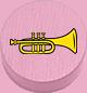 Trompete rosa