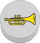 Trompete weiß