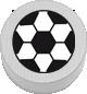 Fussball weiß