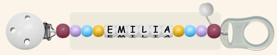 Schnullerkette Emilia