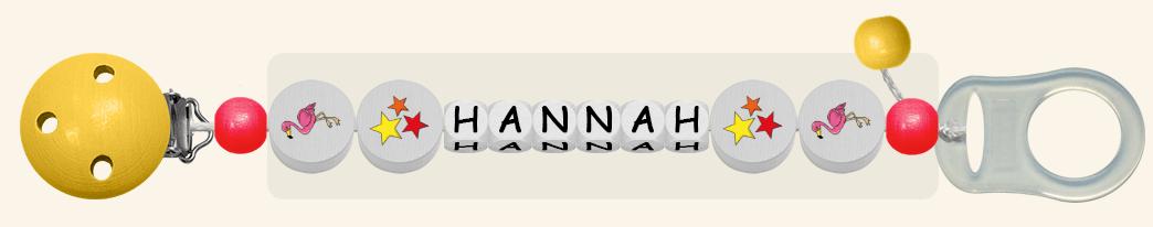 Schnullerkette Hannah