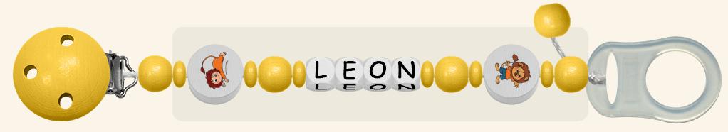 Schnullerkette Leon